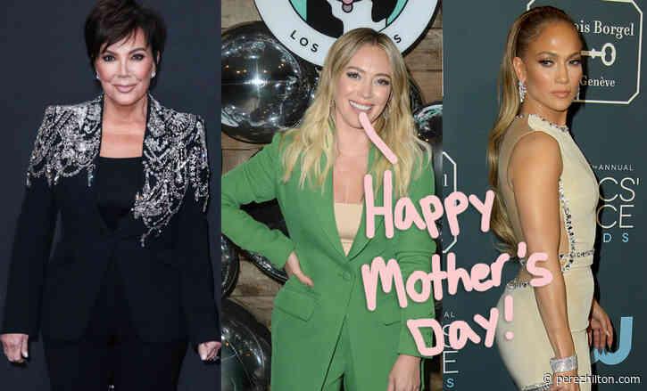 Here Is How Kris Jenner, Hilary Duff, Jennifer Lopez & More Celeb Mommas Celebrated Mother's Day!