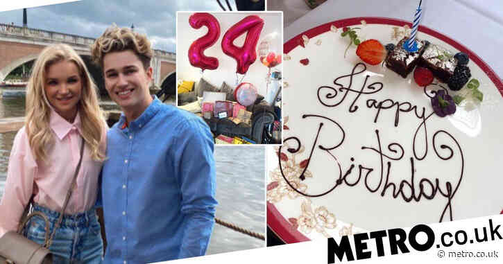 AJ Pritchard praises 'inspirational' girlfriend Abbie Quinnen as she celebrates birthday after horror fire