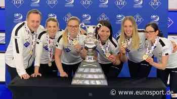 Curling-WM: Schweizer Frauen schlagen Russland im Finale und holen erneut Gold - Bronze für die USA - Eurosport DE