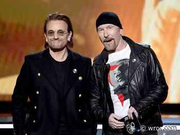 Bono and The Edge Team with DJ Martin Garrix for Euro 2020 Song - WROR
