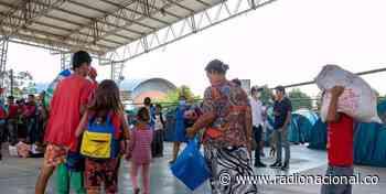 Arauca: 300 migrantes más llegaron a Saravena desplazados - http://www.radionacional.co/
