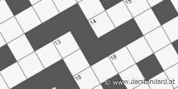 Kreuzworträtsel D 9779 - derStandard.at
