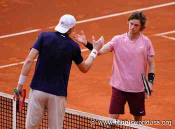 John Isner: Andrey Rublev was the better player but I won - Tennis World USA