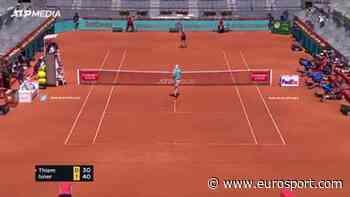 Madrid Open 2021 - Dominic Thiem overcomes John Isner's big serves to reach the semis at the - Eurosport.com
