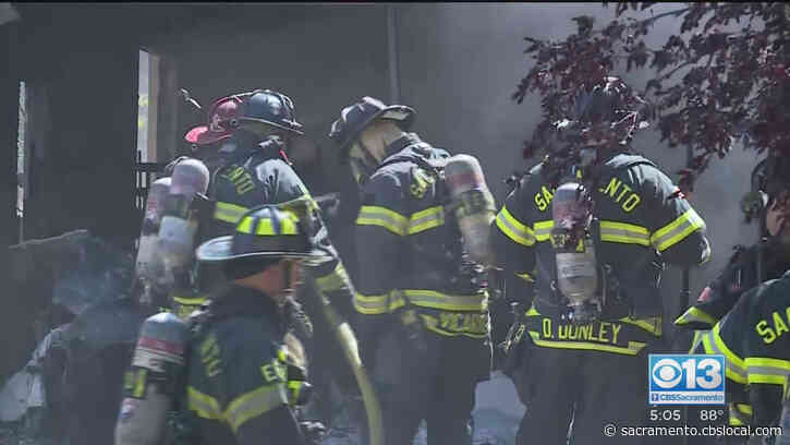 Firefighters Put Out House Fire In Natomas