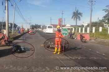 Tránsito Día a Día   Accidentes en la vía Acacías – Villavicencio – Bogotá - Noticias Día a Día
