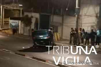 Vuelcan sus autos y los abandonan en Puebla y Tlaxcalancingo - Tribunanoticias