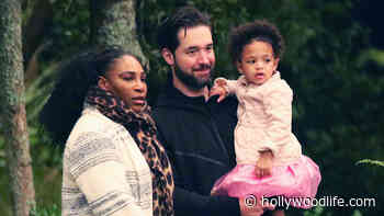 Serena Williams' Daughter Olympia, 3, Cuddles Up To Dad Alexis Ohanian In Precious New Photos - HollywoodLife