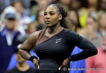 Serena Williams Was Trending For Her Different Looking Face - Awesemo.com