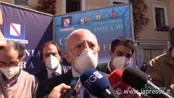 """Isole Covid free, De Luca: """"Le abbiamo immunizzate, poi tocca a Sorrento, Amalfi e il Cilento"""" - LaPresse"""