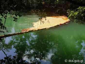 Analizan muestras de agua del río Gracias a Dios, por derrame de aceite - dca.gob.gt