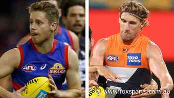 Dogs set to lose another midfield gun, Giant dealt brutal injury news: AFL Casualty Ward