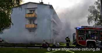 Feuer in Keller von Mehrfamilienhaus in Bad Kreuznach - Allgemeine Zeitung