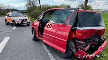 Unfall: Fahrer scherte bei Fritzlar scharf ein und krachte in Auto - HNA.de