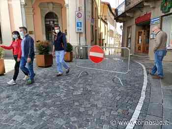 MONCALIERI - Primo giorno di isola pedonale in centro: tra residenti soddisfatti e automobilisti spaesati - TorinoSud