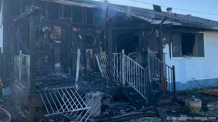 2 Adults, 4 Children Displaced After Fire Heavily Damages Home Near Rio Linda