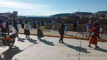 San Antonio de Putina: Pobladores de Toma piden veedores para solucionar conflicto territorial con Sandia - Radio Onda Azul