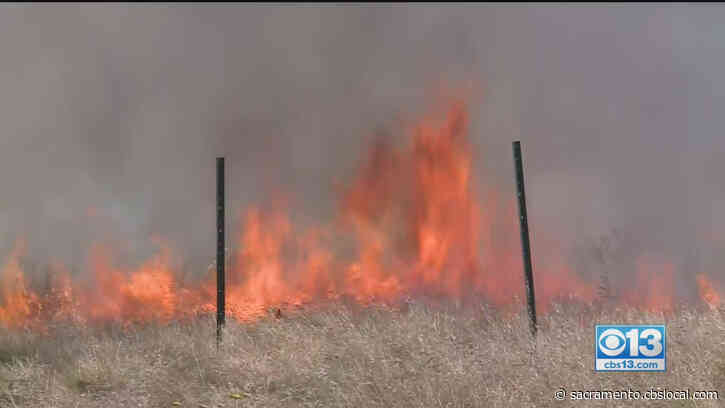 NWS Sacramento Says It's Odd To See Back-To-Back Weekends Of Red Flag Warnings In Early May
