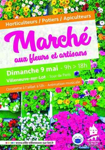 Marché aux fleurs Villeneuve-sur-Lot - Unidivers