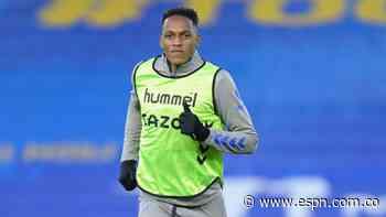 La solución en defensa está en el banco: Yerry Mina podría volver a la titular de Everton frente al West Ham - ESPN