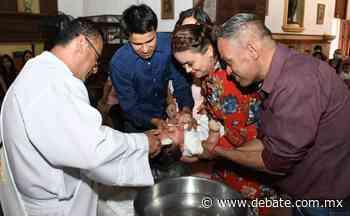 Mateo Fernando es bautizado en Mocorito - Debate