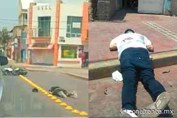 Asesinan a dos hombres que iban en moto, en Purísima del Rincón - Zona Franca