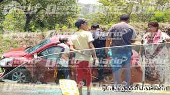 Se registra volcadura sobre la carretera de Mapastepec-Pijijiapan - Diario de Chiapas