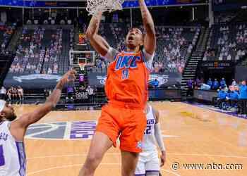 Game Recap: Thunder 98, Kings 126