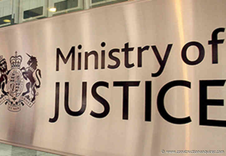 MoJ plans to opens up £250m minor works to more firms
