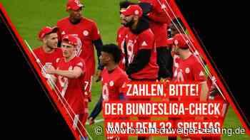 Zahlen, bitte! Der Bundesliga-Check nach dem 32. Spieltag