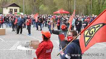MP+ Protest in Mellrichstadt: Gewerkschaft kritisiert Reich harsch - Main-Post