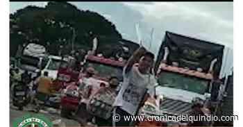 Policía allanará barrios en La Tebaida para esclarecer hurtos a camioneros - La Cronica del Quindio