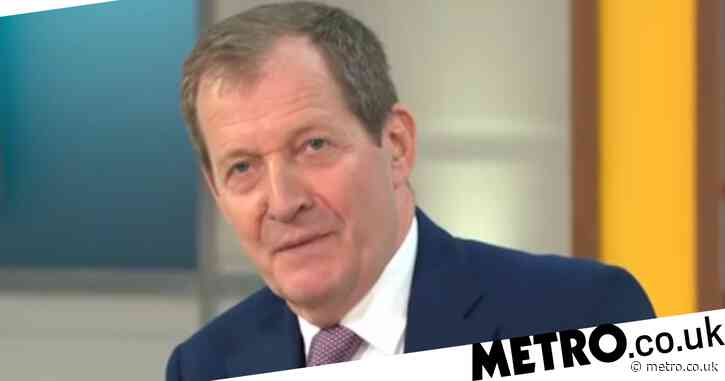 'Am I a criminal?' Alastair Campbell declares he's broken social distancing rules as he makes Good Morning Britain debut