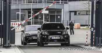 2023 Porsche Macan EV prototypes hit the road     - Roadshow