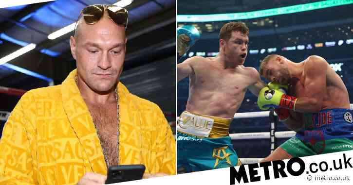 Tyson Fury reacts to Canelo Alvarez win and sends message to Billy Joe Saunders