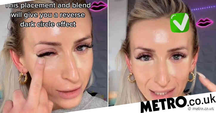 TikTok user shares concealer hack to make your eyes look bigger