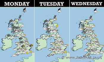 UK weather: Britain faces a week of rain, hail and thunder despite warmer weather