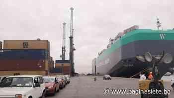 Puerto Arica suma otro hito con el arribo de nueva naviera cargada de vehículos - Diario Pagina Siete