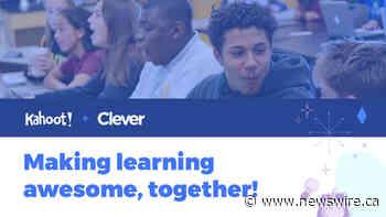 Kahoot! neemt Clever over, een toonaangevend Amerikaans EdTech-onderwijsplatform voor het basisonderwijs, waarmee zijn visie wordt versneld om 's werelds toonaangevende onderwijsplatform te bouwen