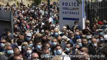 Gewaltverbrechen: Festnahmen in Frankreich im Fall des getöteten Polizisten