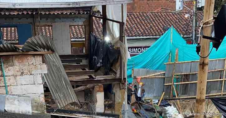 Ola invernal en Antioquia: deslizamientos e inundaciones en Marinilla dejan varias familias damnificadas - infobae