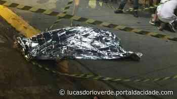 Tiroteio no centro de Lucas do Rio Verde deixa um morto e dois feridos - ® Portal da Cidade | Lucas do Rio Verde