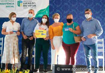 Lucas do Rio Verde tem 2 mil beneficiadas no Ser Família Emergencial; entrega de cartões prorrogada - Só Notícias