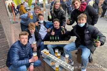 Heropening horeca zorgt voor grote drukte in centrum van Keerbergen - Het Nieuwsblad