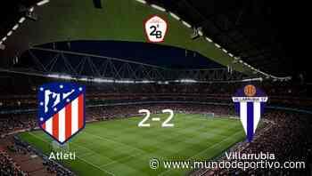 Reparto de puntos en el Cerro del Espino: Atlético B 2-2 Villarrubia - Mundo Deportivo
