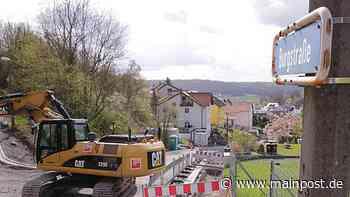 Bad Kissingen: Zoff legt die Baustelle in der Burgstraße lahm - Main-Post