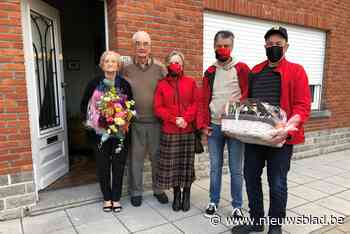 WK De Wringers zetten oudste lid in de bloemetjes