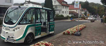 Autonomes EASY-Shuttle in Bad Soden-Salmünster unterwegs - Fuldainfo