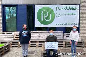 Coördinator Park Uniek stapt 6.000 euro bij elkaar