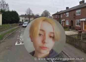 Appeal for missing Blackburn teenager